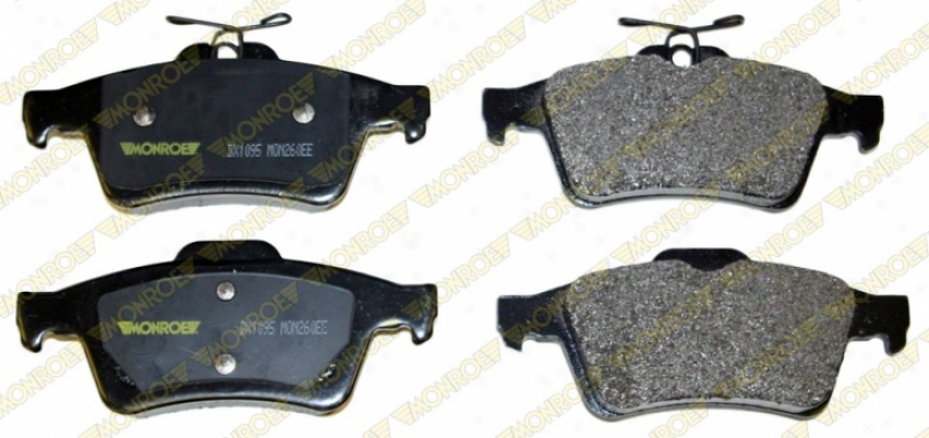 Monroe Premium Brake Pads Dx1095 Land Rover Quarters