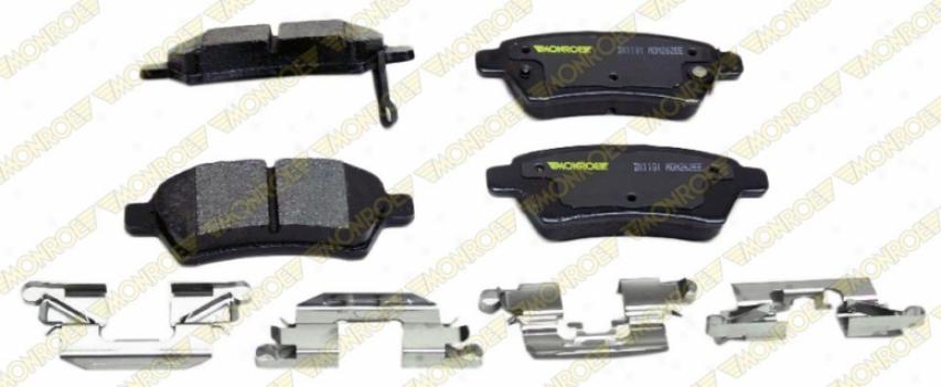 Monroe Premium Brake Pads Dx1101 Honda Parts