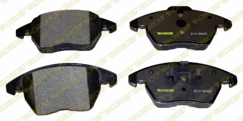 Monroe Premium Brake Pads Dx1107 Volkswagen Semi Metalic Brake Pads