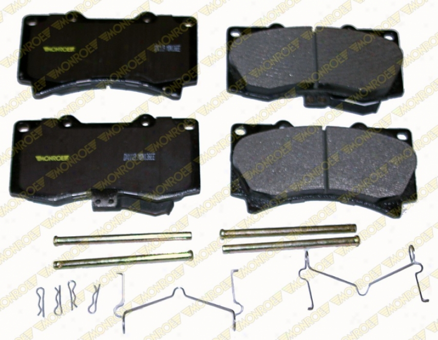 Monroe Premium Brake Pads Dx1119 Hummer Semi Metalic Brake Pads