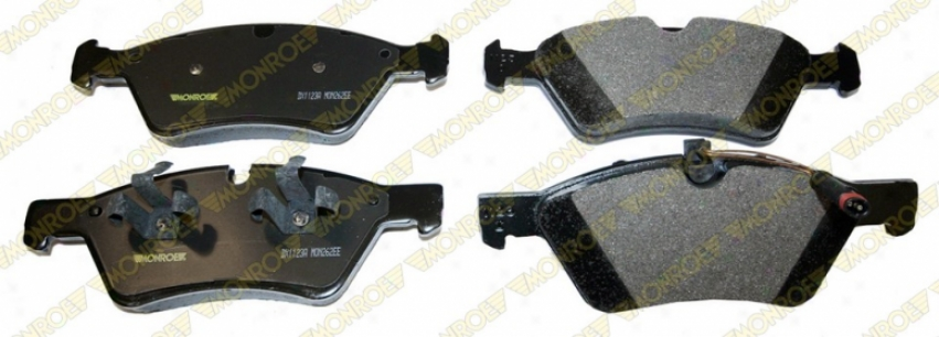 Monroe Premium Brake Paes Dx1123a Chrysler Semi Metalic Brake Pads