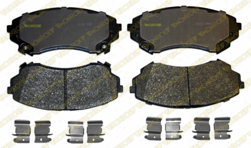 Momroe Premium Braoe Pads Dx1331 Mercedes-benz Parts
