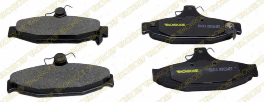 Monroe Premium Brake Pads Dx413 Dodge Semi Metalic Brake Pads