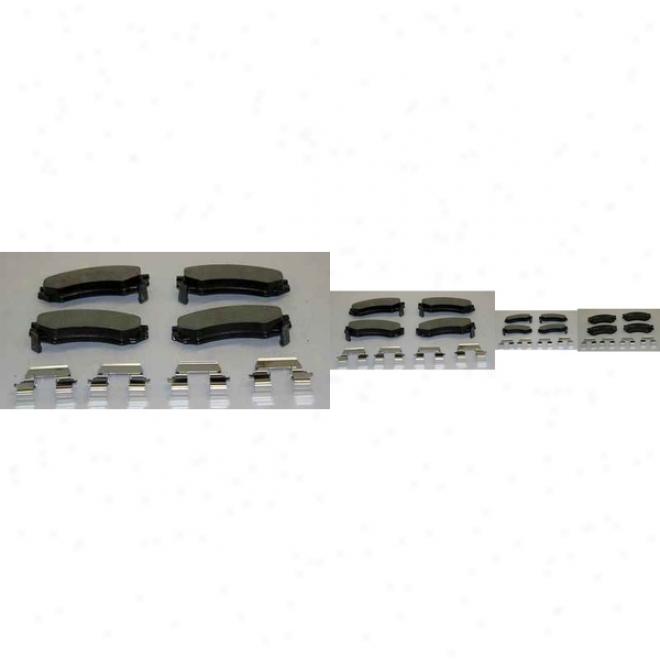 Monroe Premium Brake Pads Dx507a Cadillac Semi Metalic Brake Pads
