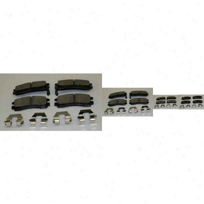 Monroe Premium Brake Pads Dx508 Cadillac Semi Metalic Brake Pads