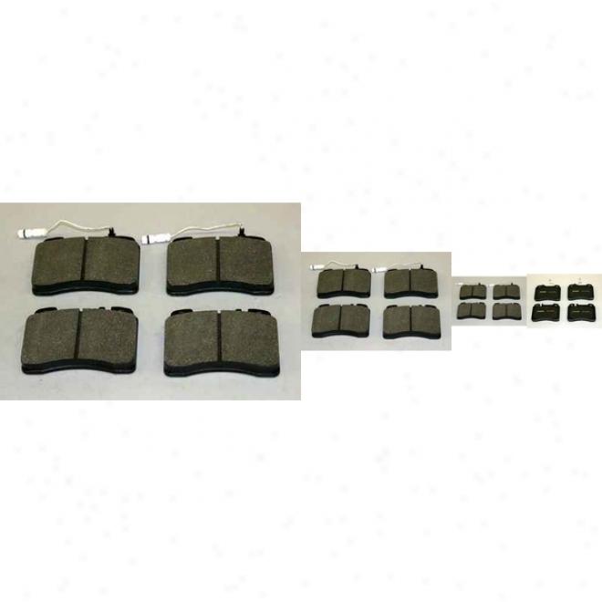 Monroe Premium Brake Pads Dx561a Mercedes-benz Semi Metalic Brake Pads