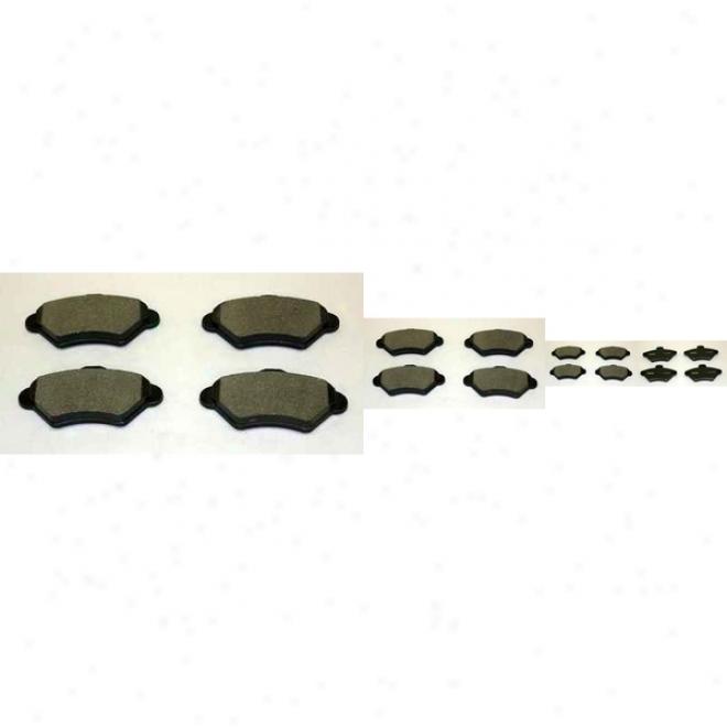Monroe Premium Brame Pads Dx600 Mercjry Semi Metalic Brake Pads