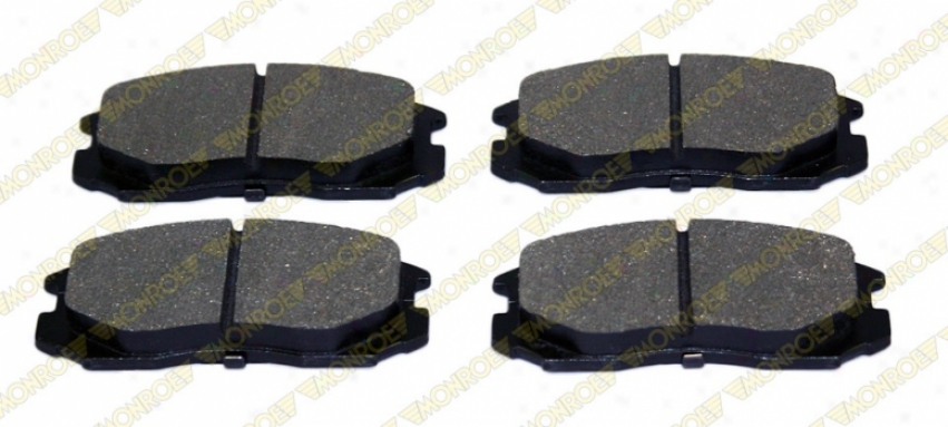 Monroe Premum Brake Pads Dx602 Mercedes-benz Semi Metalic Brake Pads