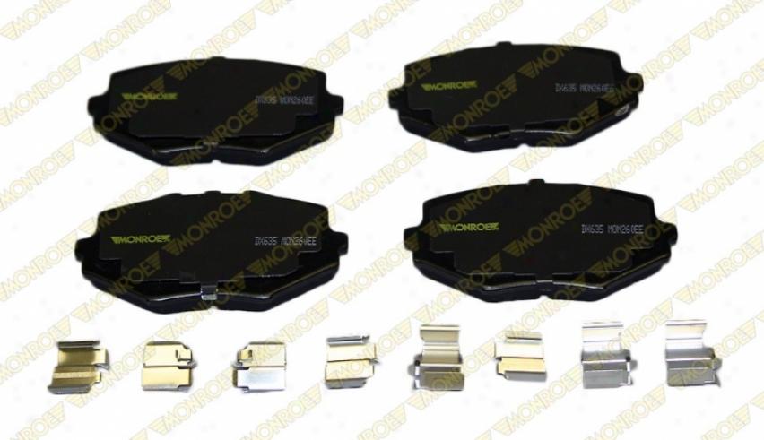 Monroe Premium Brake Pads Dx635 Mazda Semi Metalic Brake Pwds