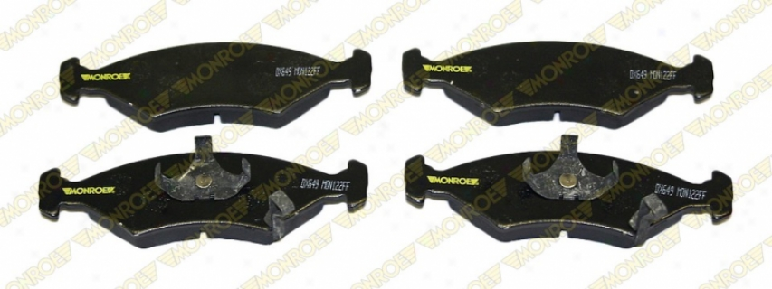 Monroe Rate above par Brake Pads Dx649 Dodge Semi Metalic Brake Pasd