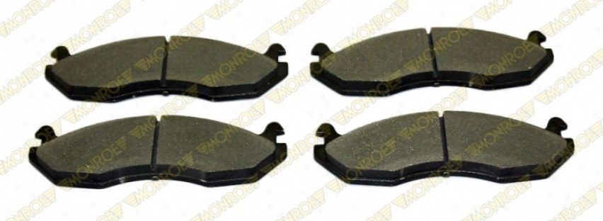 Monroe Premium Brake Pads Dx651 Ford Parts