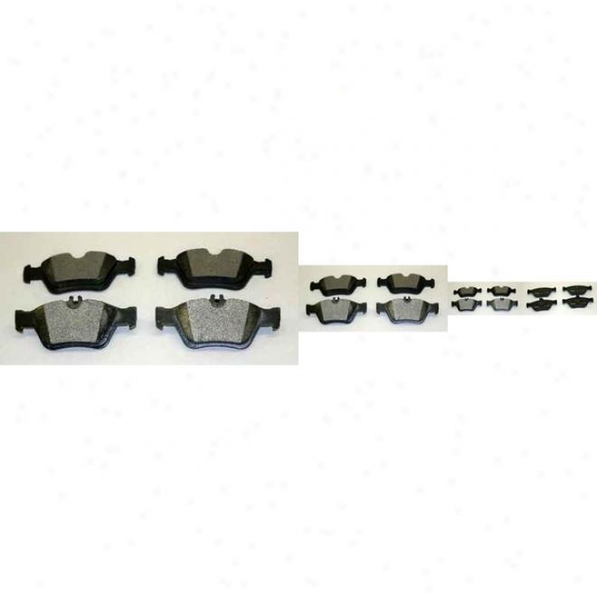 Monroe Premium Brake Pars Dx710 Mercedes-benz Semi Metalic Brake Pads