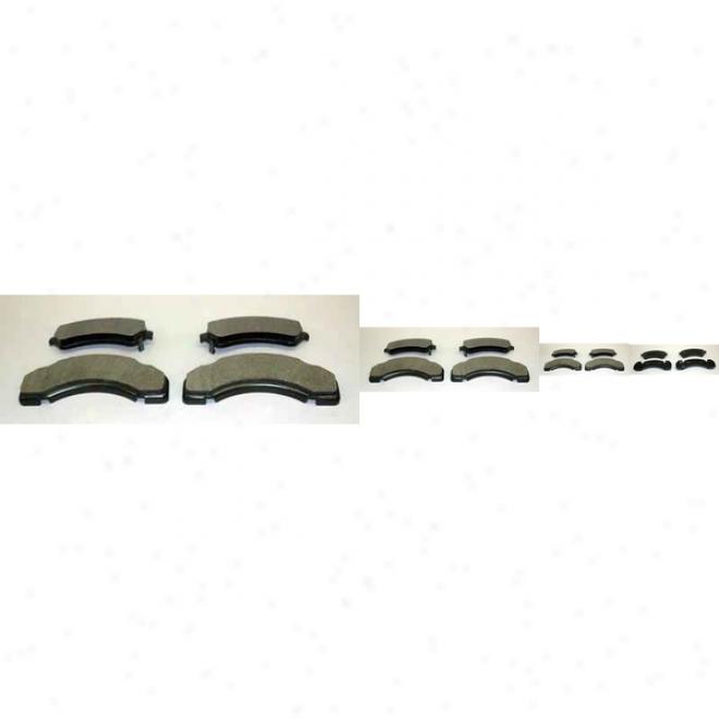 Monroe Premium Brake Pads Dx717 Kia Semu Metalic Brake Pads