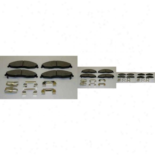 Monroe Premium Brake Pads Dx749 Pontiac Semi Metalic Brake Pads