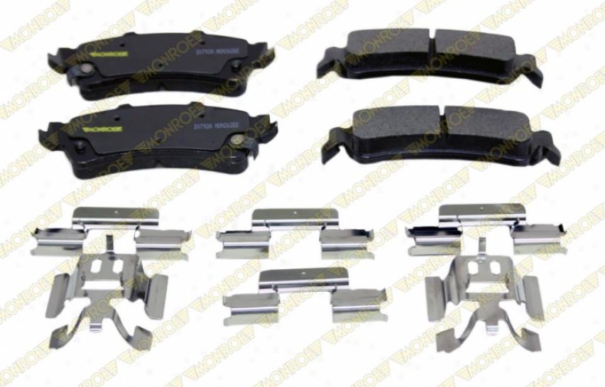 Monroe Premium Brake Pads Dx792a Honda Parts