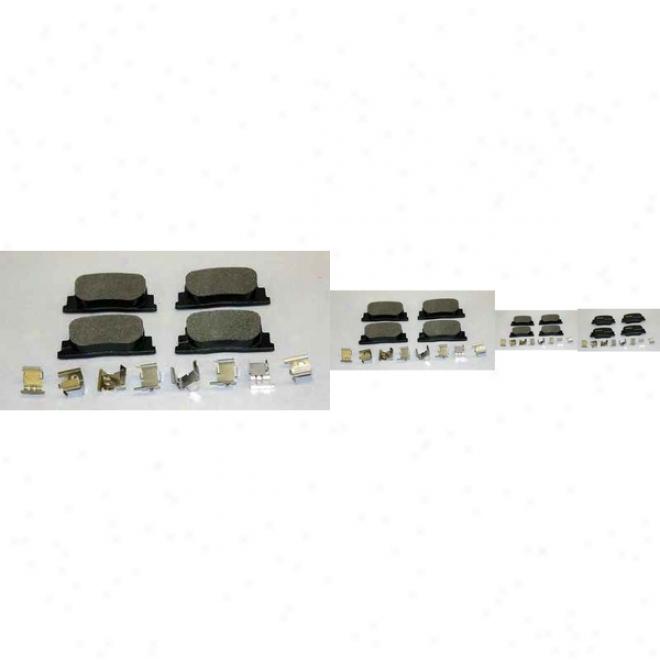 Monroe Premium Brake Pads Dx835 Volvo Parts