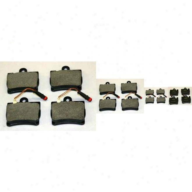 Monroe Premium Brake Pads Dx848a Mercedes-benz Semi Metalic Brake Pads