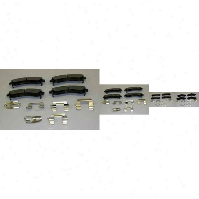 Monroe Premium Brake PadsD x882 Gmc Semmi Metalic Brake Pads