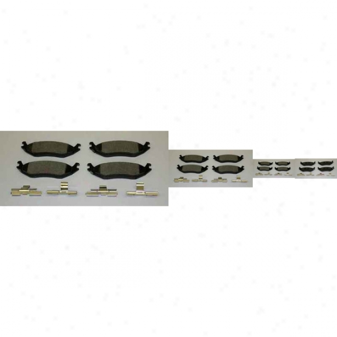 Monroe Reward Brake Pads Dx898 Mercury Semi Megalic Brake Pads