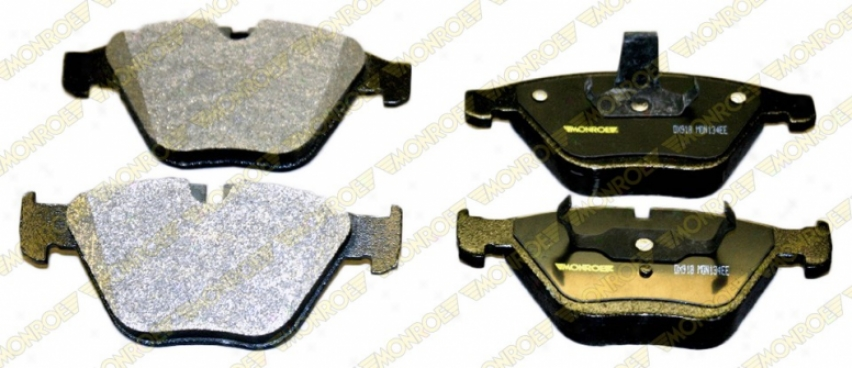 Monroe Premium Brake Pads Dx918 Bmw Semi Metalic Brake Pads
