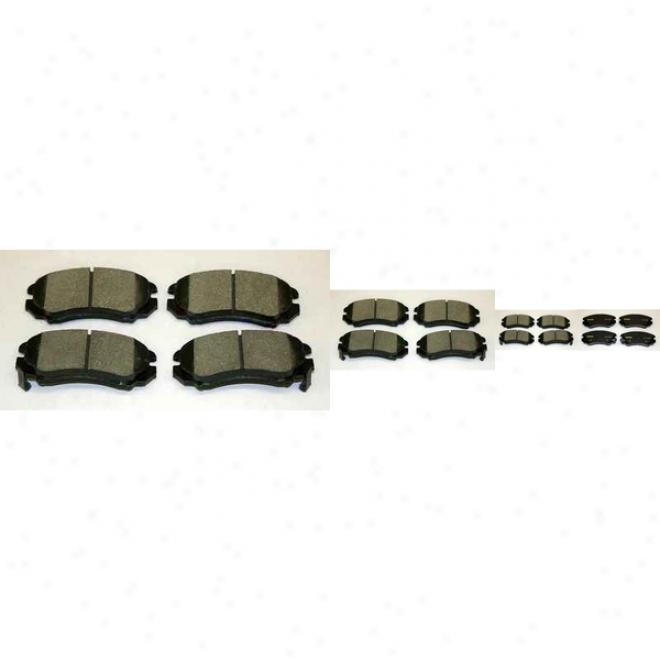 Monroe Premium Brake Pads Dx924 Kia Semi Metalic Brake Pads