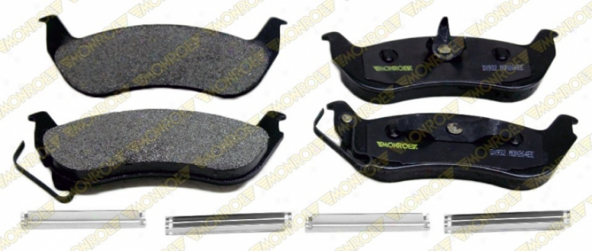 Monroe Premium Brake Pads Dx932 Ford Semi Metalic Brake Pads