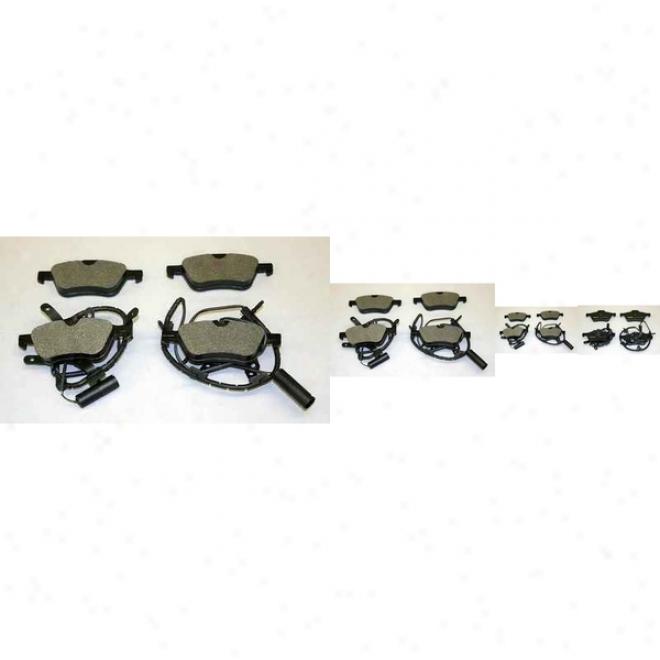 Monroe Premium Brake Pads Dx939a Hyundai Semi Metalic Brake Pads