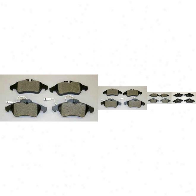 Monroe Premium Brake Pads Dx950a Dodge Semi Metalic Brake Pads