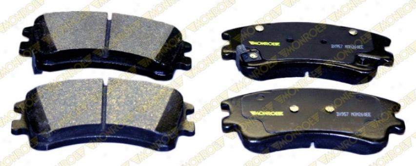 Monroe Premium Brake Pads Dx957 Honda Semi Metalic Brake Pads