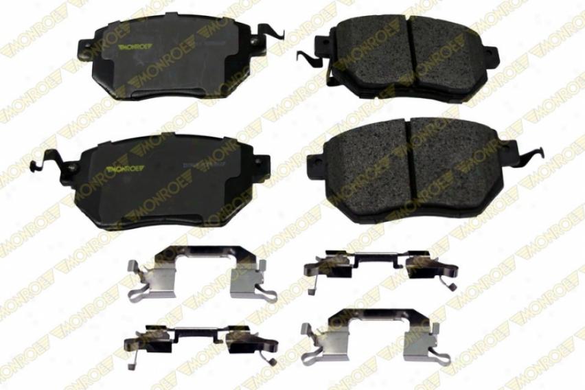 Monroe Premium Brake Pads Dx969 Wade through Semi Metalic Brake Pads