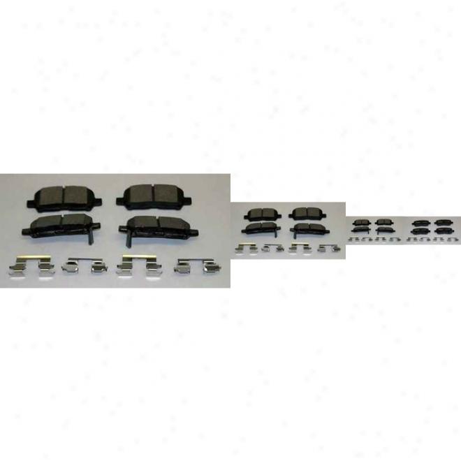 Monroe Premium Brake Pads Dx999 Mercury Semi Mwtalic Brake Pads