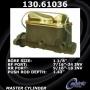 Centric Prts 130.61036 Frod Quarters