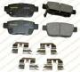 Monpr Premium Brake Pads Cx1103 Hyundai Ceramic Brake Pads