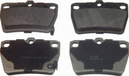 Wagner Mx1051 Mx1051 Chrysler Semi Metalic Brake Pads