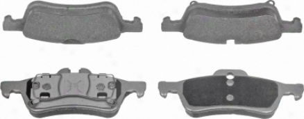 Wagner Mx1060 Mx1060 Bmw Semi Metalic Brake Pads