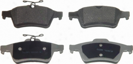 Wagner Mx1095 Mx1095 Audi Semi Metalic Brake Pads