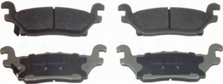 Wagner Mx1120 Mx1120 Merdeedes-benz Semi Metalic Brake Pads