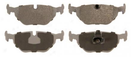 Wagner Mx1239 Mx1239 Jaguar Semi Metalic Beake Pads