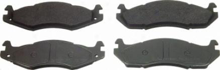 Wagner Mx203 Mx203 Pontiac Semi Metalic Brake Pads