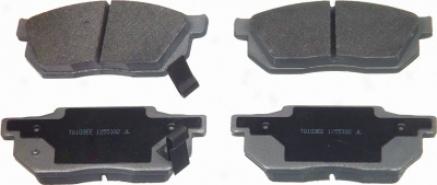 Wagner Mx256 Mx256 Messenger Semi Metalic Brake Pads