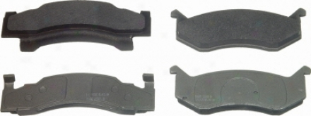 Wagner Mx269 Mx269 Honda Semi Metalic Brake Pads