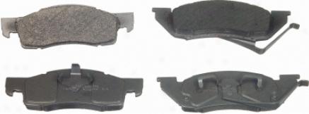 Wagner Mx344a Mx344a Porsche Semi Metalic Brake Pads