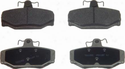 Wagner Mx391 Mx391 Bmw Semi Metalic Brake Pads