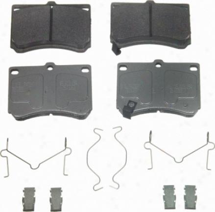 Wagner Mx473 Mx473 Jeep Semi Metalic Brake Pads