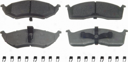 Wagner Mx591 Mx591 Dodge Semi Metalic Brake Pads