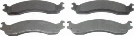 Wagner Mx655a Mx655a Lincoln Semi Metalic Brake Pads
