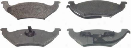 Wagner Mx662 Ms662 Wade through Sem Metalic Brake Pads