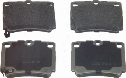 Wagner Mx733 Md733 Saab Semi Metalic Brake Pads