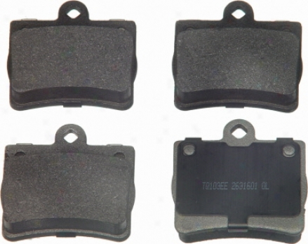 Wagner Mx739 Mx739 Doodge Semi Metalic Brake Pads