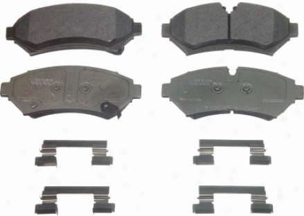 Wagner Mx753 Mx754 Ford Semi Metalic Brake Pads